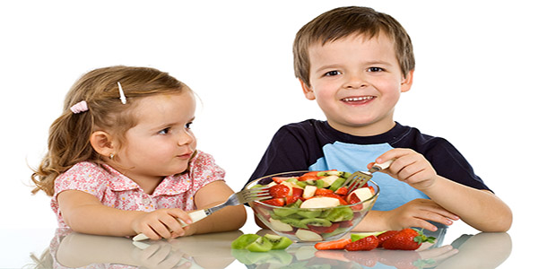kids eating